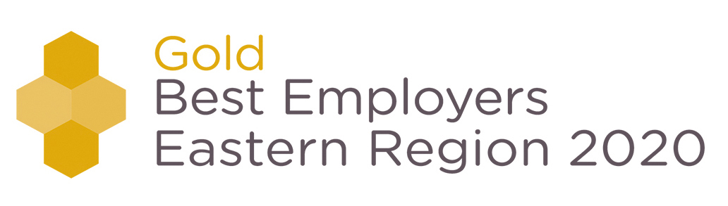 Gold Best Employers Logo